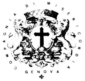 Logo della Veneranda Compagnia di Misericordia di Genova